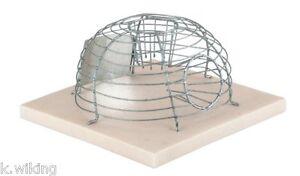 lebendmausefalle draht rund korbmausefalle mausefalle lebendfalle maus falle ebay. Black Bedroom Furniture Sets. Home Design Ideas