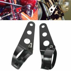 Legs-of-Fixing-Headlight-Lighting-Motorbike-28-A-38mm-Yamaha-Kawa-Suzuki-Honda