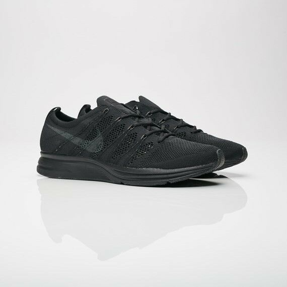 Mens Nike Flyknit Trainer AH8396-004 Black/Anthracite Brand New Size 10.5