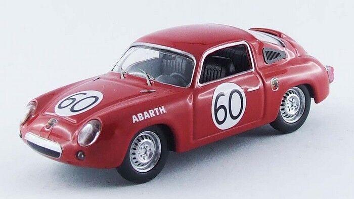 Best MODEL 9511 - Fiat Abarth 700S #60 #60 #60 24H du Femmes - 1960  1/43 | Une Bonne Conservation De La Chaleur  a20d10