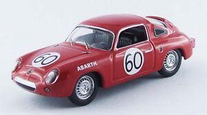 Meilleur Modèle 9511 - Fiat Abarth 700s # 60 24h Du Mans 1960 1/43
