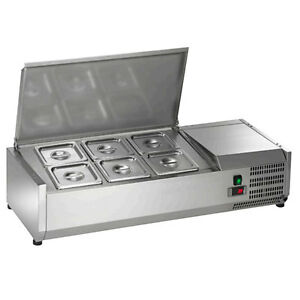 NEW-Arctic-Air-40in-Refrigerated-Counter-Top-Prep-Unit-ACP40