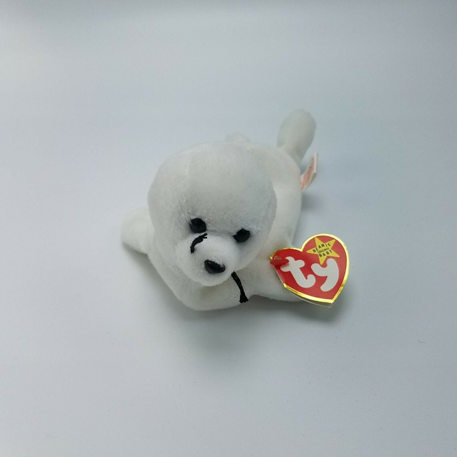 TY TY TY Beanie Baby SEAMORE The Seal 4th Gen Hang Tag - 1st Gen Tush Tag Errors a49f48