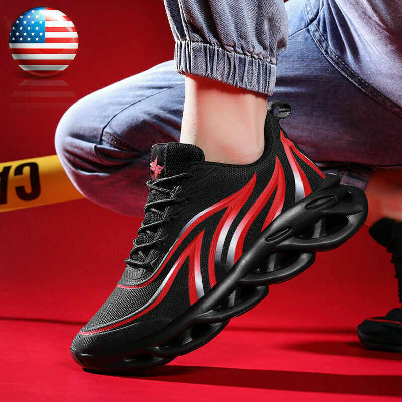 Men's Athletic Sneakers Outdoor Casual Running Walking Tennis Sports Shoes Gym