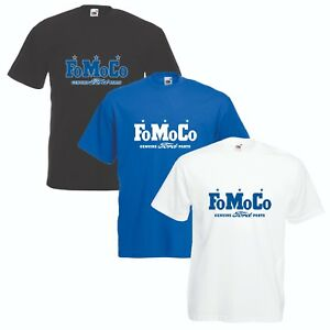 Ford-FoMoCo-T-Shirt-VARIOUS-SIZES-amp-COLOURS-Car-Enthusiast-Classic-Ford-Parts
