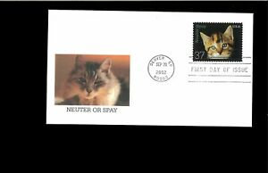 2002-First-day-Cover-Neuter-amp-Spay-Denver-CO
