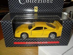 Shell-Collezione-Diecast-Ferrari-F40-escala-1-39-Vintage-Tienda-Existencias