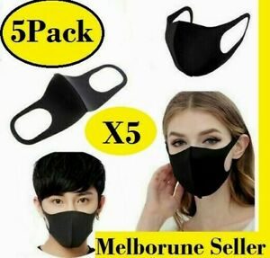 X5-Washable-Unisex-Fashion-Face-Mask-Mouth-cover-Reusable