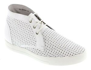 TOTO-H08061-2-4-Inches-Elevator-Height-Increase-Perforated-Chukka-Boots-White