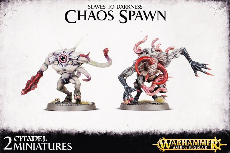 Slaves to Darkness Chaos Spawn Games OFFICINA Warhammer 40k Demoni chaosbrut