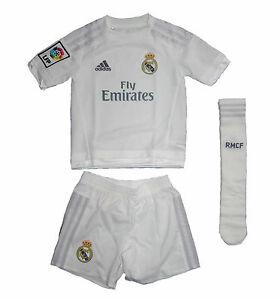 Real Madrid Kinder Trikot Set Minikit Adidas Gr164 Ebay