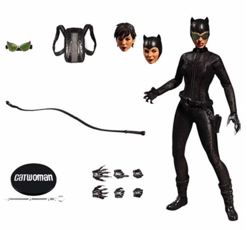 WC76820: Mezco One:12 Sammelbar Dc Catwoman Actionfigur