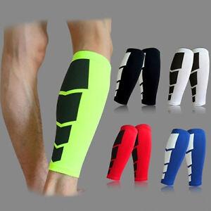 161c7edec3 1x Leg Support Shin Socks Varicose Veins Calf Sleeve Compression ...