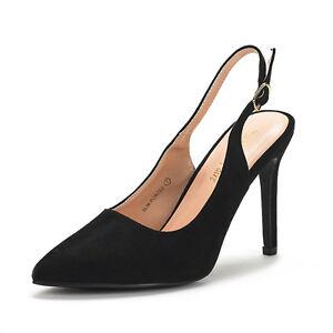 Classic Stiletto High Heel Slingback Pumps