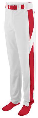 1447 Augusta Sportswear Men/'s Polyester Color Block Baseball Pant S-3XL