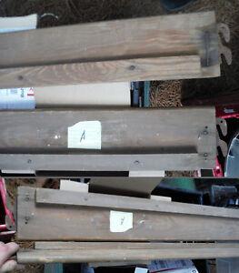 PICK ONE..Set Vintage RARE Antique Wooden Bed Rails / Hard to Find