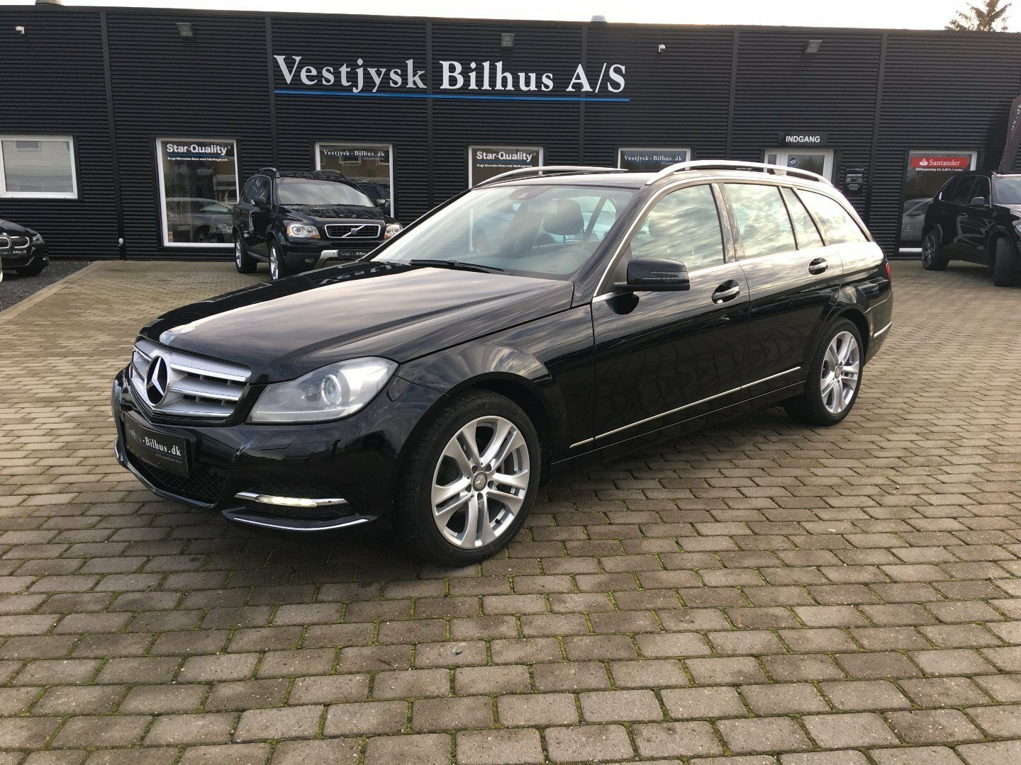 Mercedes C200 2,2 CDi Avantgarde stc. BE 5d - 239.900 kr.