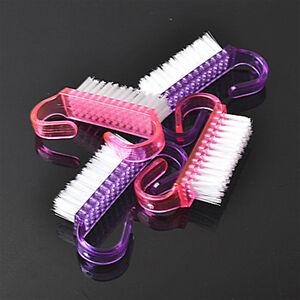 2PCS-Cepillo-de-Unas-Nail-Art-Manicura-Pedicura-Cuidado-de-unas-pequenas-limpia-CEPILLOS-BELLEZA