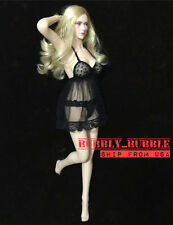1/6 Sexy Lace Lingeries Babydoll Set For Hot Toys Phicen Female SHIP FROM USA