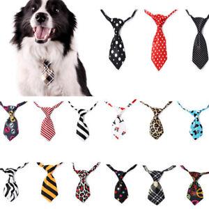 Dog Cat Pet Bow Cute Tie Necktie Adjustable Accessory Neck Tie Collar  ! q@^