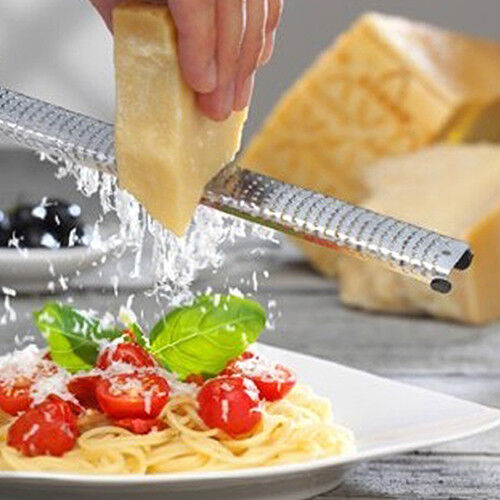 KD_ 304 Stainless Steel Lemon Zester Cheese Fruit Grater Kitchen Gadget Tool D
