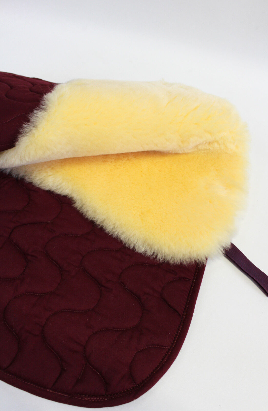 Real Sheepskin Pad for Ceiling, Saddlecloth, Pad - Tapis de Selle, Lambskin