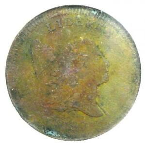 1797 Liberty Cap Flowing Hair Half Cent 1/2C - NGC XF Detail (EF) - Rare Coin!