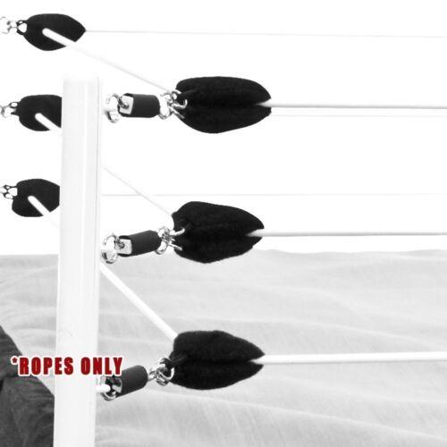 Blanc Bague Cordes pour Wrestling Action Figure Ring par Figures Toy Company