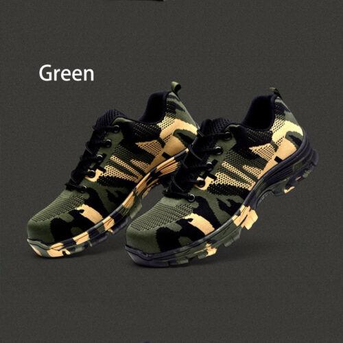 Men/'s Labor Indestructible Bulletproof Ultra X Protection Work Shoes Steel Toe