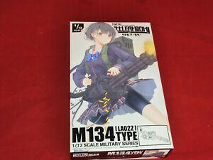 Tomytec-1-12-Little-Armory-LA022-M134-minigun-tipo-di-modello-in-plastica-NUOVO