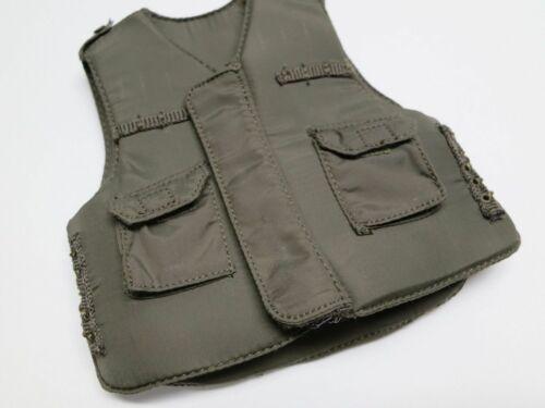 """Flak Vest pour 1//6th 12/"""" Taille Figures Vietnam era LOOSE M-69 M-1952A"""