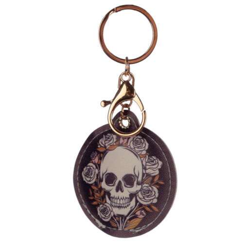 Fun Leatherette Keyring Key Ring Keychain Collection Gift Cute Kitsch Hipster
