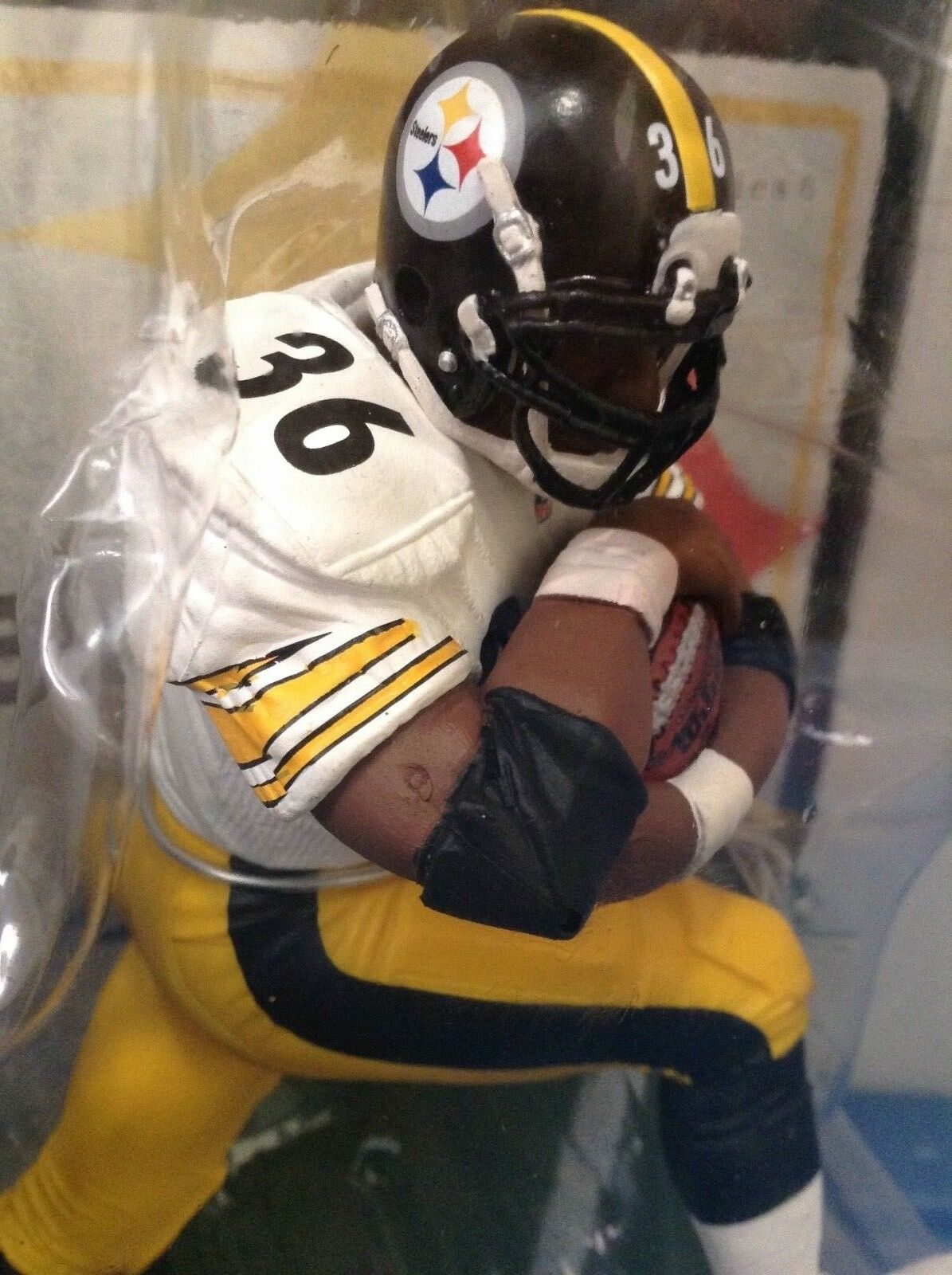 Basso No.    - NFL Pittsburgh Steelers Jerome Bettis Mcfarlane Leggende Serie 6  economico