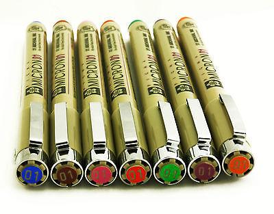 Sakura Pigma Micron Pens - Assorted Colours