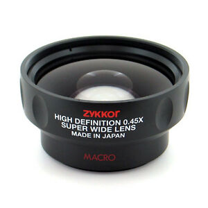 0-45x-Wide-Angle-Lens-with-Macro-for-Canon-camera-Japan-made-free-US-shipping