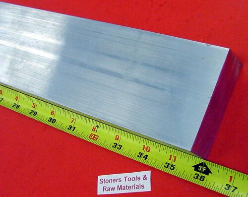 "1-1//4/"" X 3/"" ALUMINUM 6061 T6511 SOLID FLAT BAR 36/"" long 1.250/"" NEW Mill Stock"
