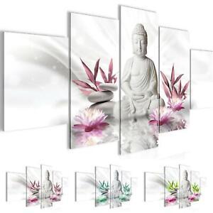 Details Zu Bild Bilder Wandbild Xxl Buddha Feng Shui Kunstdruck Leinwand Vlies Wanddeko