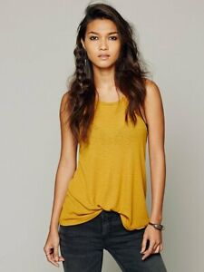 New-Free-People-La-Nite-Tank-Top-Boho-Ribbed-Loose-Cotton-Cami-Womens-Xs-L-20