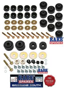RADIATOR-amp-BODY-MOUNT-KIT-WITH-BOLTS-amp-WASHERS-SUIT-HQ-HJ-HX-HZ-WB-UTE-amp-VAN
