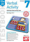 11+ Verbal Activity Year 5-7 Testbook 7: CEM Style Cloze Activity Tests: 2015 by Stephen C. Curran, Warren J. Vokes (Paperback, 2015)