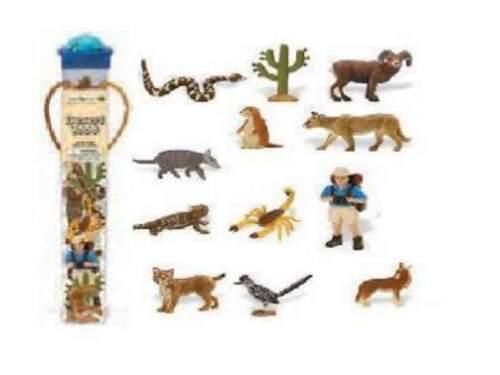 Serie Themengebiet Safari Ltd 682504 Wüstendasein Wüste 12 Minifiguren