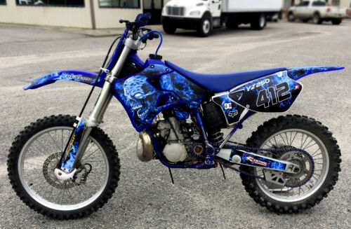 Motorcycle Accessories Yz125 Yz250 Graphics Kit For Yamaha 1996 1997 1998 1999 2000 2001 9500 Blue Vehicle Parts Accessories Visitestartit Com