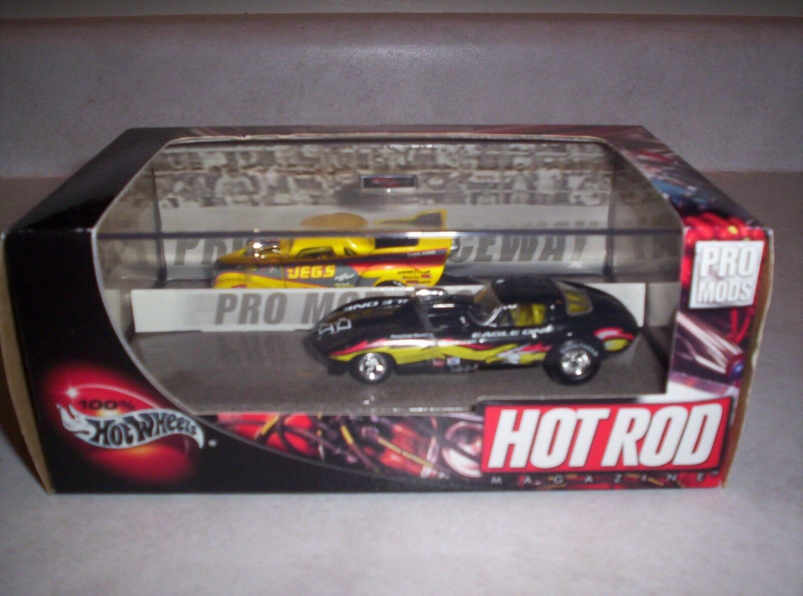 Hot Wheels 100% 2 Car Set - Hot Rod Pro Mods