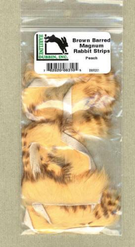 Magnum Rabbit Strips brown barred peach     BMR281