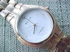 Relic Folio by Fossil Mens or Ladies Watch ZR-77035 Gold Tone 30 meters water rs
