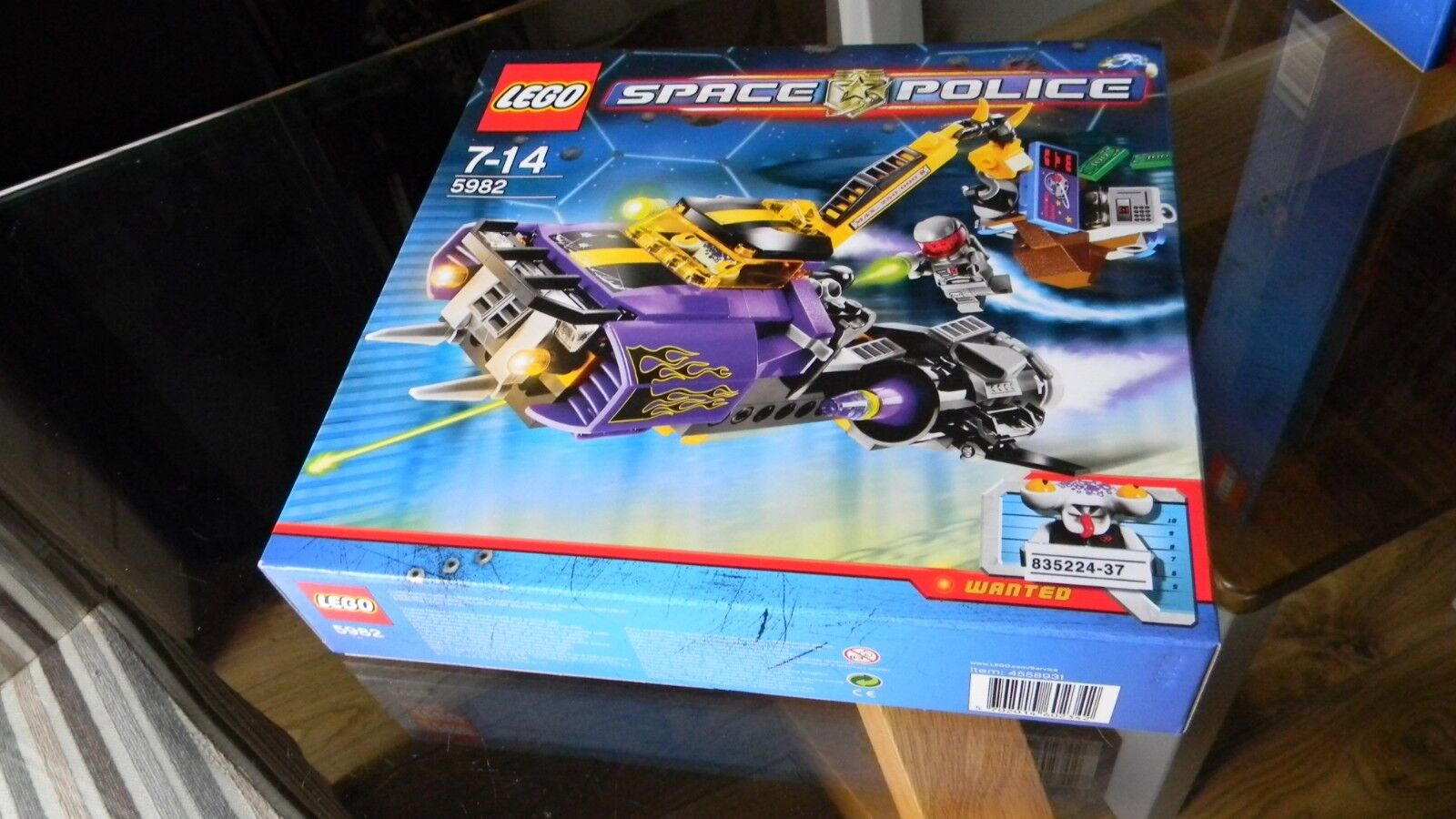 Lego Space Police - Smash n Grab 5982  very rare NEW sealed