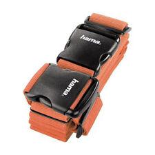 Hama 2-Way Luggage Strap in Orange 5cm x 200cm and 5cm x 230cm
