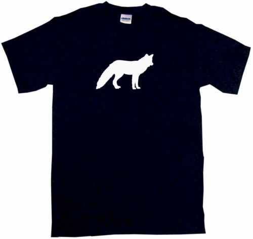Fox Silhouette Mens Tee Shirt Pick Size Color Small-6XL