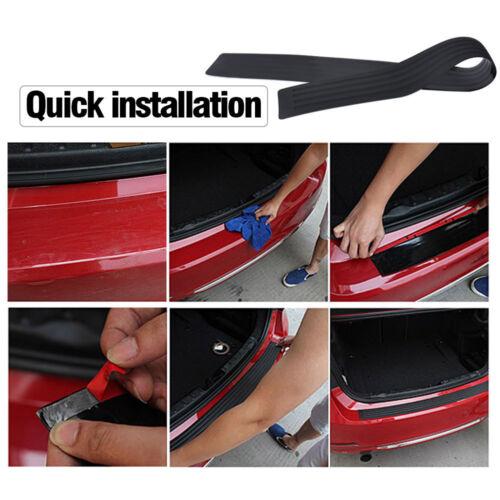 """35.5/"""" Rubber Car Sill Plate Bumper Guard Protector Sill Pad Cover Trim Universal"""
