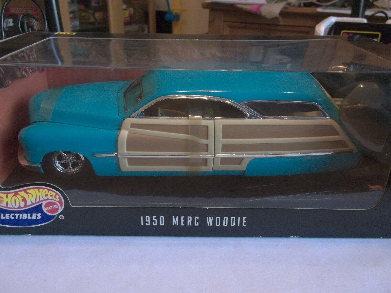 Hot Wheels 27806 - 1950 Merc Woodie-Nuevo En Caja Sellada 1 18 Escala Excelente